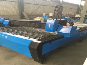 1530 60A 100A 130A izvor plazme cnc stroj za rezanje plazme, Cijene plazme strojeva za rezanje, cnc tablica