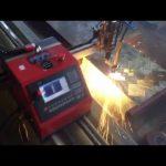 2017 vrhunska CE certifikacija prijenosni metalni rezač jeftini cnc stroj za rezanje plazmom