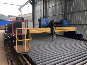 Automatizirani CNC stroj za rezanje plazama s dvostrukom vožnjom 4m raspona šina 15m