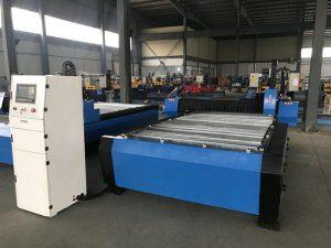Kina 1325 1530 jeftini kontroler visine baklje plazma huayuan rezanje metalnog čelika cnc stroj za rezanje plazme