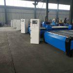 cnc prijenosni plazma stroj za rezanje plamena stol / klupa radna površina / hardver cnc stroj za rezanje od nehrđajućeg čelika