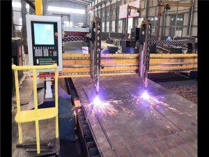 Stroj za rezanje plazme s dvostrukim pogonom H proizvodne linije Hypertherm CNC sustav