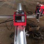 visokokvalitetni prijenosni cnc plamen / mini metalni prijenosni cnc strojevi za plazmo rezanje