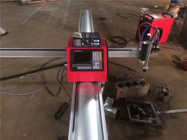 Visokokvalitetni prijenosni cnc stroj za rezanje plazme cnc plazma rezač za nehrđajući čelik i metalni lim