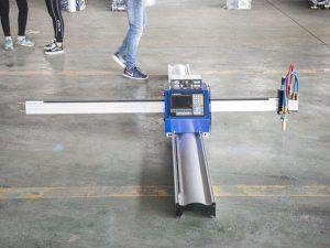 nova tehnologija mikro start cnc rezač za metal / prijenosni cnc stroj za rezanje plazmom