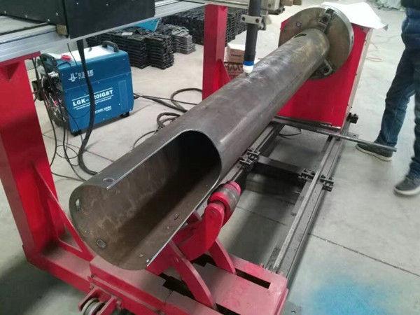 Rotirajuća osovina CNC kružna cijev s niskim troškovima CNC stroj za rezanje plazme