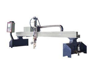 visoko efikasna gantry cnc stroj za rezanje plazmom / stroj za rezanje plamenom cnc