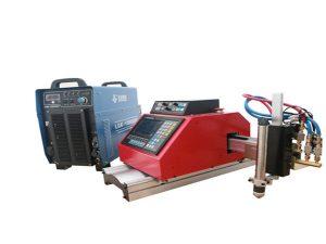 visokokvalitetni prijenosni mali cnc stroj za rezanje plazme za pocinčani čelični lim