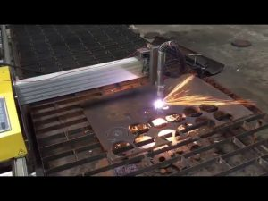 prijenosni stroj za rezanje plamen-plazme cnc s hipertermom 45