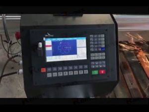 prijenosni stroj za rezanje flameplazme cnc sa servo motorom