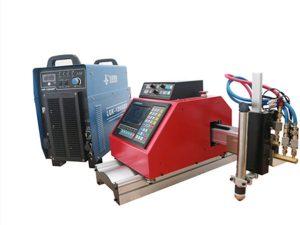 prijenosna cnc plazma, plin, plamen, stroj za rezanje lima od kisika s THC-om