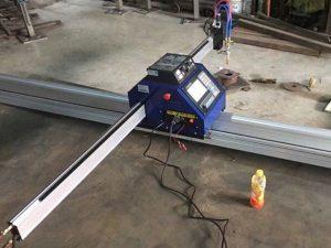 prodaja mala prijenosna mašina za rezanje plazme cnc 1530 prijenosni stroj za rezanje cnc plazme / plamen ploča / rezač