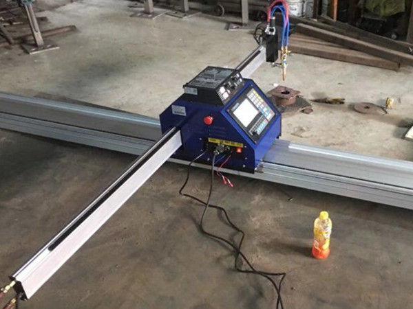 mali stroj za rezanje plazme cnc 1530 prijenosni CNC metalni plazma plamen rezač stroja za rezanje lima